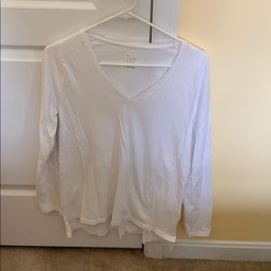 A new day long sleeve white shirt